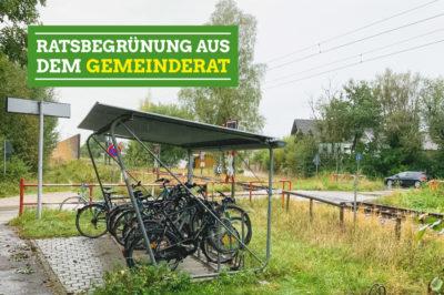 Radlständer am Wächterhof